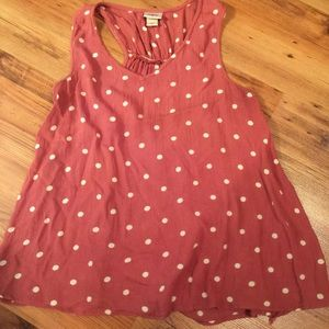 Daytrip polka dot top size small